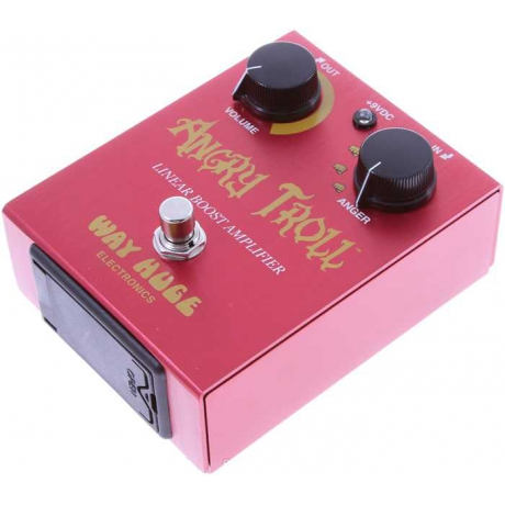 Way Huge WHE101 Angry Troll Booster Pedalı<br>Fotoğraf: 3/4