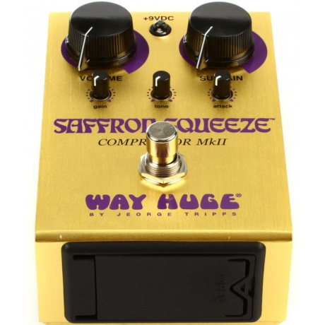 Way Huge WHE103 Saffron Squeeze Compressor Pedalı<br>Fotoğraf: 3/8