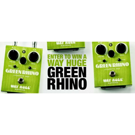 Way Huge WHE202 Green Rhino Overdrive Pedalı<br>Fotoğraf: 4/4