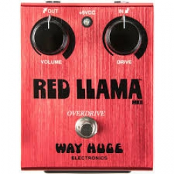 Way Huge WHE203 Red Llama Overdrive Pedalı