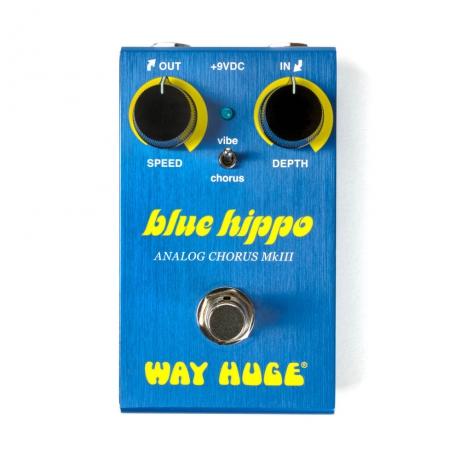 Way Huge WM61 Mini Blue Hippo Analog Chorus Pedalı<br>Fotoğraf: 1/5