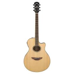Yamaha APX600 Thin-Line Cutaway Elektro Akustik Gitar (Naturel)