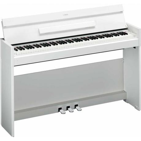 Yamaha Arius YDP-S52 Dijital Piyano (Mat Beyaz)<br>Fotoğraf: 3/4