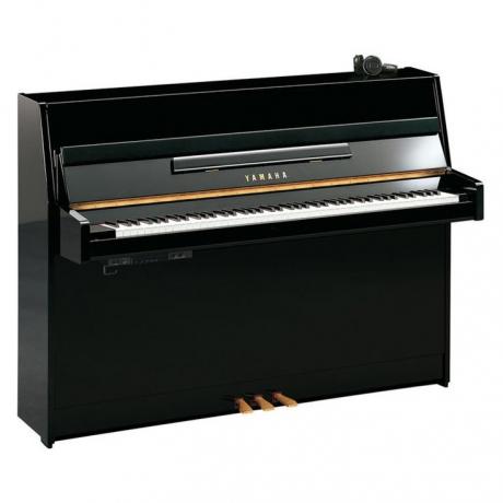 Yamaha B1 Silent Akustik Duvar Piyanosu (Parlak Siyah)<br>Fotoğraf: 1/1