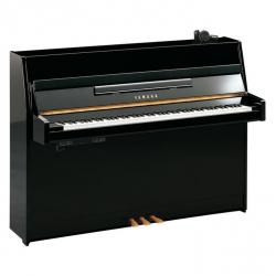 Yamaha B1 Silent Akustik Duvar Piyanosu (Parlak Siyah)
