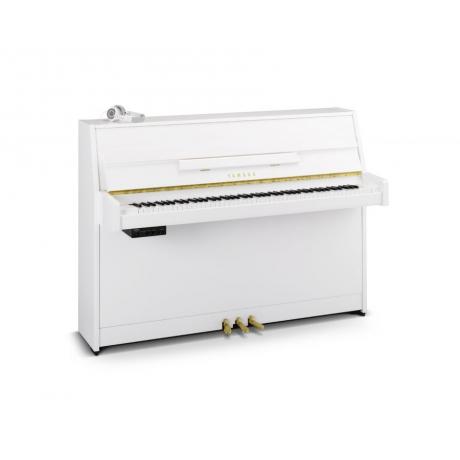 Yamaha B1SG2 Silent Akustik Duvar Piyanosu (Parlak Beyaz)<br>Fotoğraf: 1/1