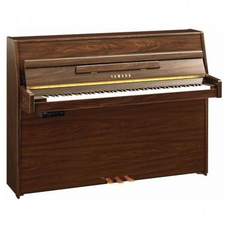 Yamaha B1SG2 Silent Duvar Piyanosu (Parlak Ceviz)<br>Fotoğraf: 1/1