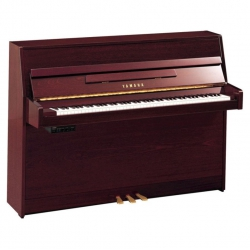 Yamaha B1SG2 Silent Duvar Piyanosu (Parlak Maun)