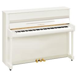 Yamaha B2 Akustik Duvar Piyanosu (Parlak Beyaz)
