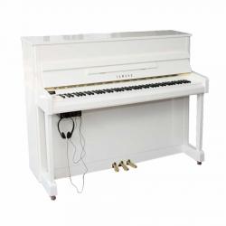 Yamaha B2SG2 Silent Akustik Duvar Piyanosu (Parlak Beyaz)
