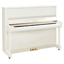 Yamaha B3 Akustik Duvar Piyanosu (Parlak Beyaz)