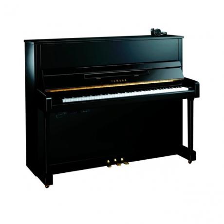 Yamaha B3E Silent Akustik Duvar Piyanosu (Parlak Siyah)<br>Fotoğraf: 1/1