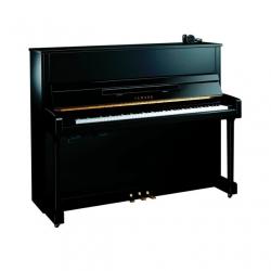 Yamaha B3E Silent Akustik Duvar Piyanosu (Parlak Siyah)