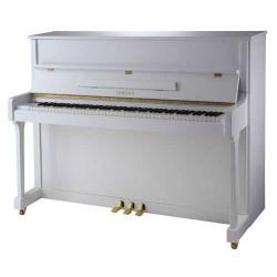 Yamaha B3SG2 Silent Akustik Duvar Piyanosu (Parlak Beyaz)
