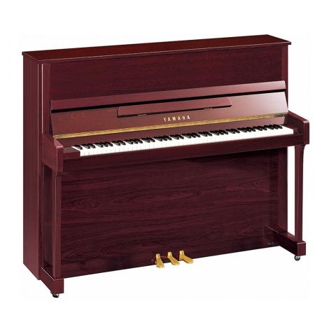 Yamaha B3SG2 Silent Duvar Piyanosu (Parlak Maun)<br>Fotoğraf: 1/1