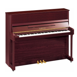 Yamaha B3SG2 Silent Duvar Piyanosu (Parlak Maun)