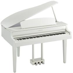Yamaha Clavinova CLP-665GP Kuyruklu Dijital Piyano (Beyaz)