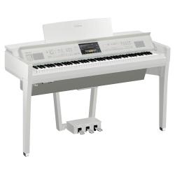 Yamaha Clavinova CVP-809 Dijjital Konsol Piyano (Beyaz)