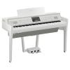 Yamaha Clavinova CVP-809 Dijjital Konsol Piyano (Beyaz)<br>Fotoğraf: 1/2