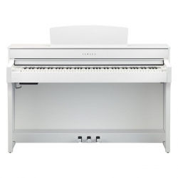Yamaha CLP-645WH Dijital Piyano (Mat Beyaz)