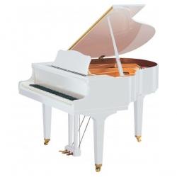Yamaha GC1 Akustik Kuyruklu Piyano (Parlak Beyaz)