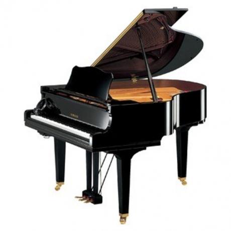 Yamaha GC1SH Silent Akustik Kuyruklu Piyano (Siyah)<br>Fotoğraf: 1/2