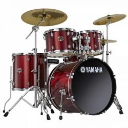 Yamaha Gigmaker Akustik Davul Seti- Burgundy Glitter