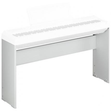 Yamaha L85WH (P45 / P115 için) Taşınabilir Piyano Standı (Beyaz)<br>Fotoğraf: 1/2