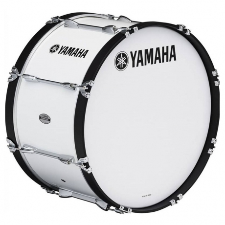 YAMAHA MB6320 MARCHING BASS DRUM WHITE<br>Fotoğraf: 1/1