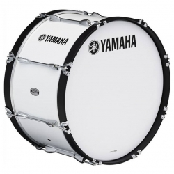 YAMAHA MB6320 MARCHING BASS DRUM WHITE