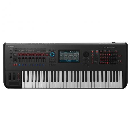 Yamaha Montage 6 Synthesizer Workstation<br>Fotoğraf: 1/5