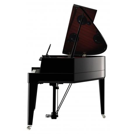 Yamaha N3X Avantgrand Dijital Kuyruklu Piyano Parlak Siyah<br>Fotoğraf: 3/5