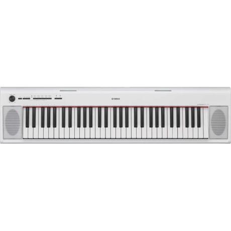 Yamaha NP12 WH Piaggero 61 Tuşlu Klavye<br>Fotoğraf: 1/2