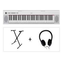 Yamaha NP12 WH Piaggero 61 Tuşlu Klavye (Stand & Kulaklık Hediye)