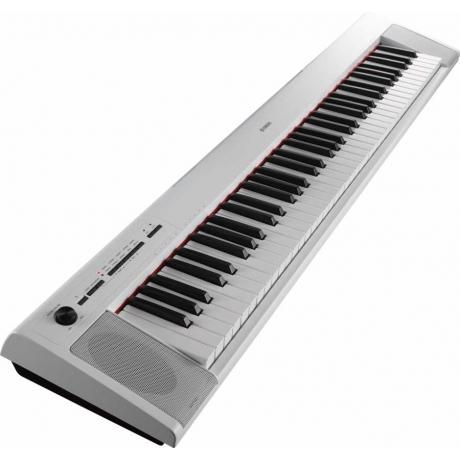 Yamaha NP32 WH Piaggero 76 Tuşlu Klavye<br>Fotoğraf: 2/2