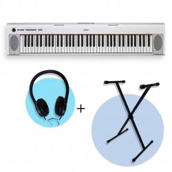 Yamaha NP32 WH Piaggero 76 Tuşlu Klavye  (Stand & Kulaklık Hediyeli)