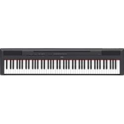 Yamaha P115 Taşınabilir Dijital Piyano (Siyah)