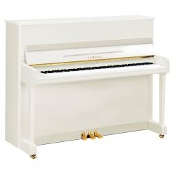 Yamaha P116 Akustik Duvar Piyano (Parlak Beyaz)