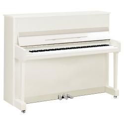 Yamaha P116 Akustik Duvar Piyano (Parlak Beyaz Krom)