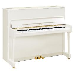 Yamaha P121 Akustik Duvar Piyano (Parlak Beyaz)
