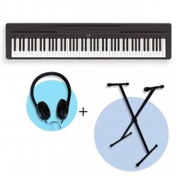 Yamaha P45 Taşınabilir Dijital Piyano Seti (Stand & Kulaklık Hediyeli)