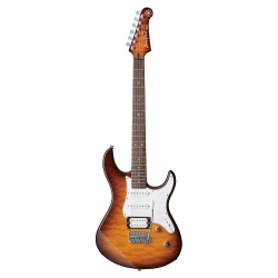 Yamaha Pacifica 212VQM Elektro Gitar Tobacco (Brown Sunburst)