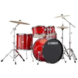 Yamaha Rydeen 20 Inch Aksamlar Dahil Davul Seti (Hot Red)