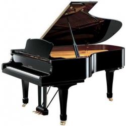 Yamaha S6 Akustik Kuyruklu Piyano (Parlak Siyah)