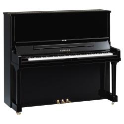 Yamaha SE132 Akustik Duvar Piyano (Parlak Siyah)