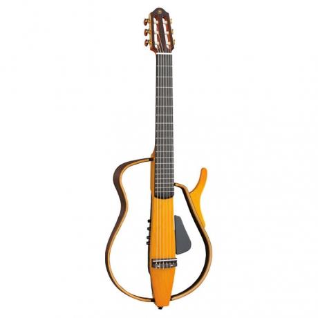 Yamaha SLG130 Silent Klasik Gitar (Light Amber Burst)<br>Fotoğraf: 1/1