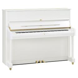 Yamaha U1 Akustik Duvar Piyanosu (Parlak Beyaz)