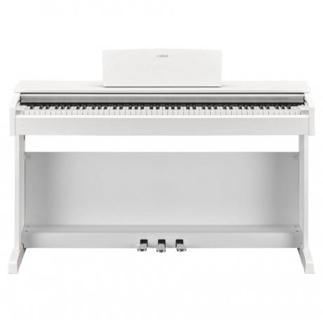 Yamaha YDP-143WH Mat Beyaz Dijital Piyano (Tabure & Kulaklık Hediyeli)<br>Fotoğraf: 1/10
