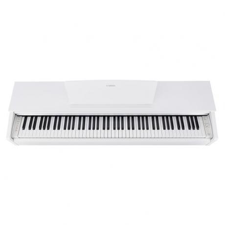 Yamaha YDP143WH Dijital Piyano (Mat Beyaz)<br>Fotoğraf: 3/10