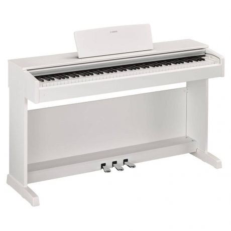 Yamaha YDP143WH Dijital Piyano (Mat Beyaz)<br>Fotoğraf: 2/2
